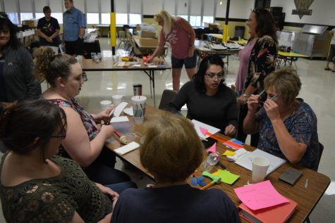 Educators gather for engineering training
