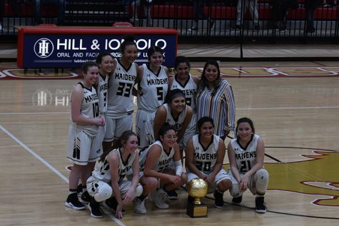 The Maidens won the bi-district championship on Monday night with a 56-33 victory over Crosbyton.