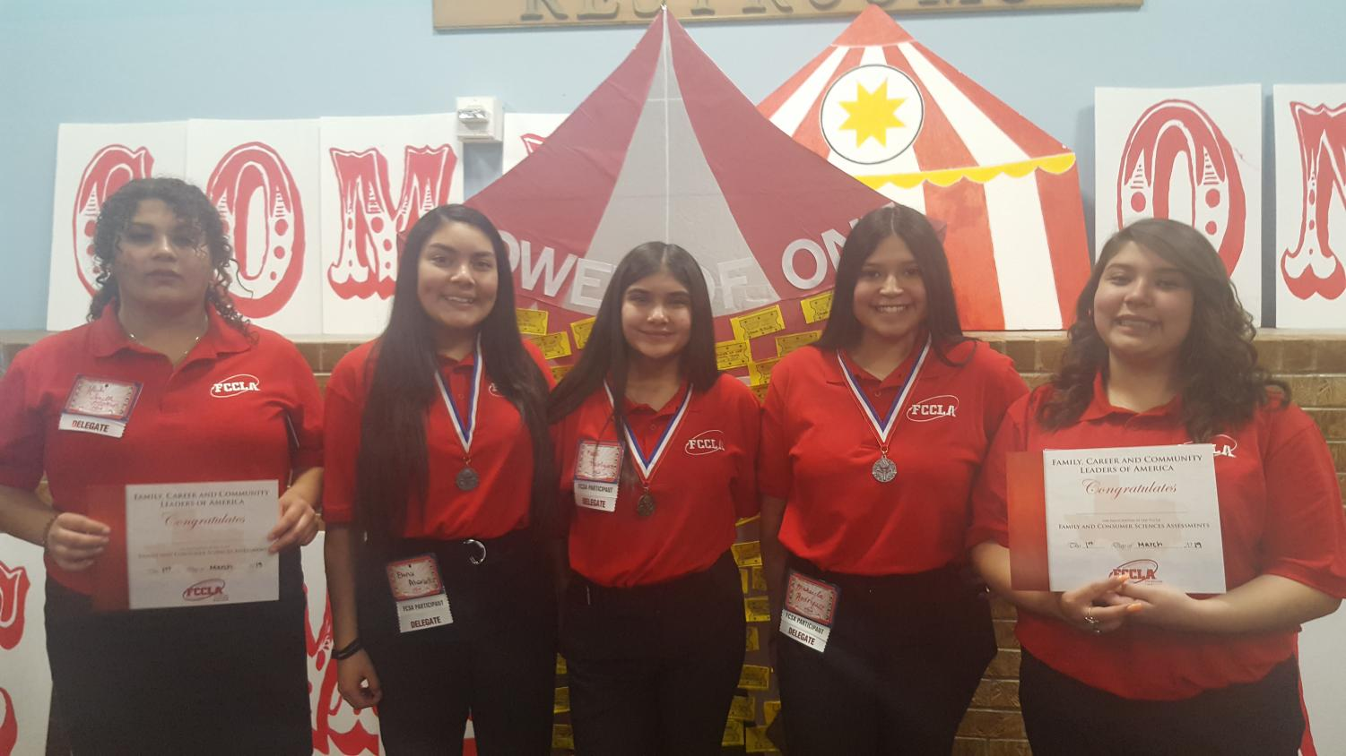 The Morton FCCLA team at Regional Competition in Odessa on March 1
