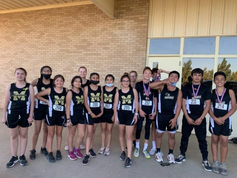 Junior High Cross Country teams compete at District Meet